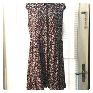 Divided by H&M sleeveless floral dress